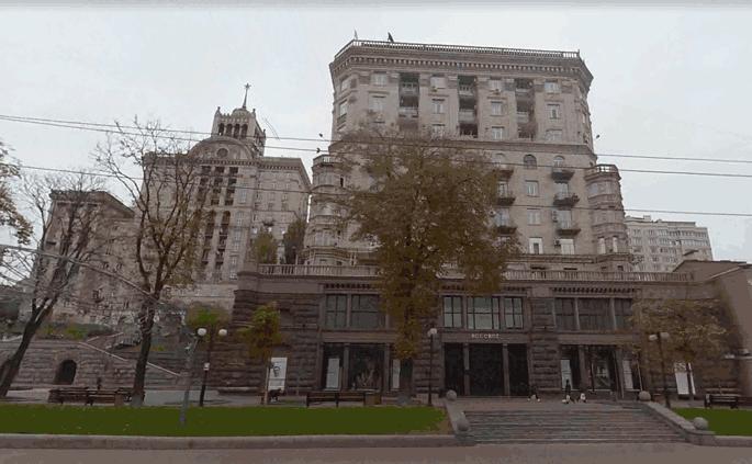 Реклама на улицах Киева