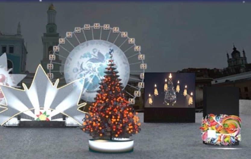 Размещение видеорекламы на Контрактовой площади 2020-2021