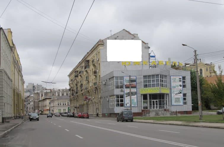 Реклама на брандмауэрах в Харькове