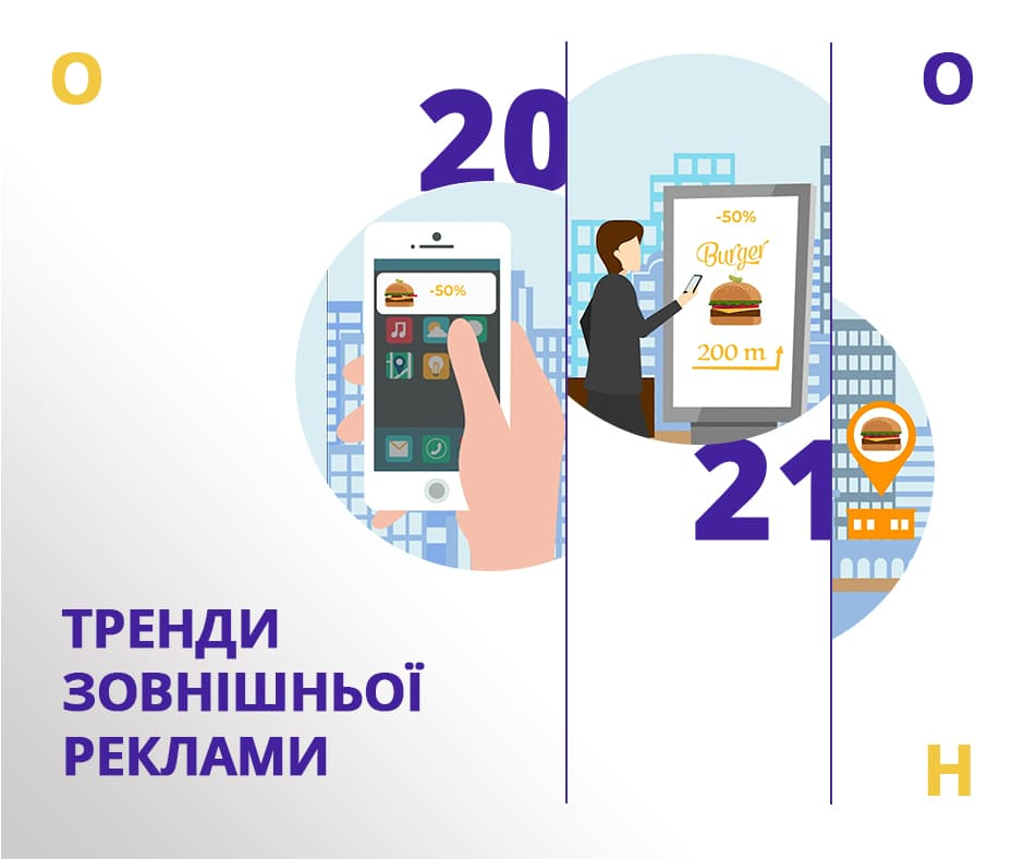 Тренды наружной рекламы 2021
